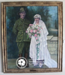 Painting of Os & Ruby Beadle ; Anne Marie Ingham; PA2007-11