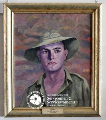 Portrait of Lance Mac Smith ; Anne Marie Ingham; PA2007-18
