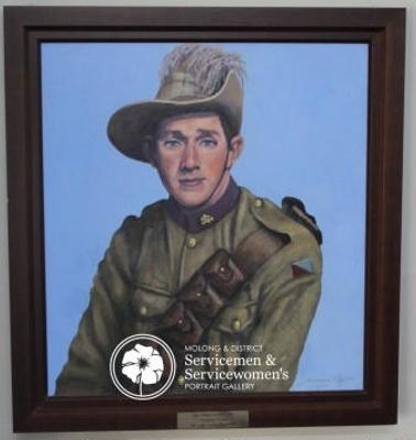 Portrait of Bill Hazelton ; Anne Marie Ingham; PA2007-41