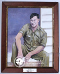 Painting of Ian Bayliff ; Anne Marie Ingham; PA2009-40