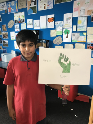 Balmoral School, Year 7 and 8 - The Green Children ; The Green Children