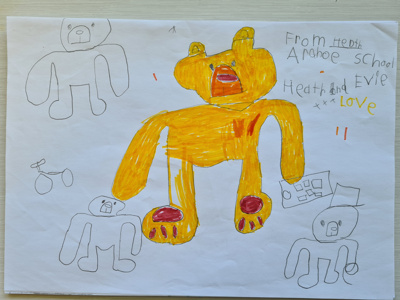 Arahoe School - Year 3 and 4 - Learning from Bear; Learning from Bear