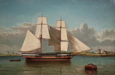 Lady Nelson in Sydney Cove or Yarrow River; Unknown; c1800; SF001443