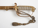 Royal Naval Officer's Dress Sword and belt; Gieve Matthews & Seagrave; SF001088