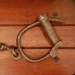 Convict hand cuffs; SF001176