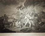 The Death of Captain James Cook – George Carter; S. Smith, J. Hall and J. Thornthwaite; 1784