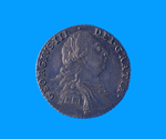 Proclamation Coin. 1787 George III Silver Shilling S# 3743; 1787; SF000994