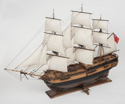 Model of the ship CATO; The Model Shipyard; Modern reproduction; SF001081