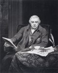 Portrait of Sir Joseph Banks; Samuel Reynolds; 1822; SF000684
