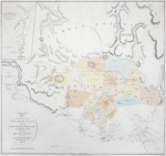 Topographical map of NSW settlements; Aaron Arrowsmith; 1815; SF000044