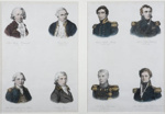 Portraits of eminent figures from the early days of exploration; Unknown; mid-19th century; SF000884
