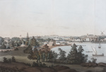 View of Sydney from the East Side of the Cove, number 1.; John Eyre; 1810-1811; SF000724