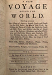 A collection of voyages of Captain William Dampier; William Dampier - Author; 1729; SF001493