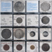 Collection of 12 SHIPWRECK coins from the BATAVIA, GILT DRAGON, DODINGTON, DUNBAR, ADMIRAL GARDENER, and the LIESDE; SF001073
