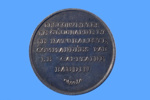 Medal commemorating the French expedition of the corvettes GEOGRAPHE and NATURALISTE; Pierre A Montagny; 1880; SF000692