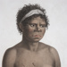 Portrait of a woman from the powerful Cam-mer-ray-gal (now usually Cameragal) tribe of Manly; Nicholas Martin Petit; 1824; SF000785