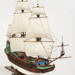 Model of the ship Batavia ; The Model Shipyard; Modern reproduction; TBCSWF0001