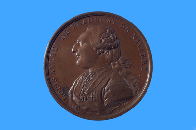 Commemorative medal for the La Pérouse expedition which sailed in June 1785; Pierre Simon Benjamin Duvivier; 1785; SF000695