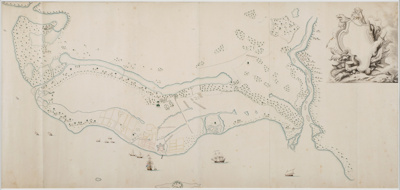 VOC Chart of the island of Makassar; VOC; SF001458