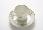 Shortland cup and saucer ; Royal Worcester; c 1795; SF001373