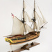 Model of the ship HMS SUPPLY; The Model Shipyard; Modern reproduction; TBCSWF002