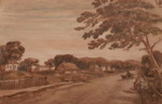Sketch of the town of Perth, Western Australia; Charles Dirck Wittenoom; c1832; SF001632