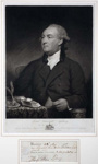 Portrait of Lord Viscount Sydney; John Young; 1785; SF000748