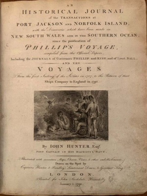 Historical Journal of the Transactions at Port Jackson and Norfolk Island; Philip Gidley King; 1793; SF000031