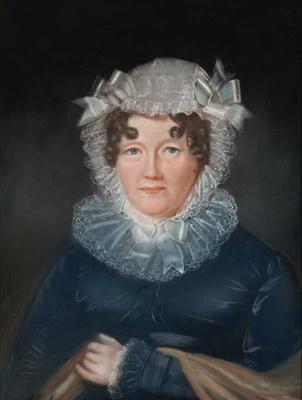 Portrait of Elizabeth Ann Wilson Potter (Mrs Francis Barnes); Augustus Earle - Artist; 1825; SF001457