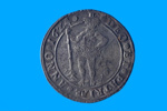 Coin from the wreck of the BATAVIA; 1624; Amsterdam, Netherlands; SF000986