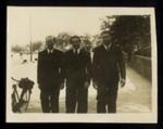 3 Photographs - ex-Eden Camp Romanian P.O.W.'s - Johann Martini (1 copy in hut10); 26790
