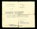 Letter from Eden Camp commandant to a C Barnes. Prisoners allowed to visit over Christmas 1947. Roth, Walter, Maemecke,Szalkowski, Plapper, Paetsch.; 19/12/1947; 11407