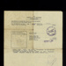 Certificate of discharge - Helmut Mildner - ex Eden Camp German P.O.W.; 29435
