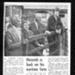 Newspaper cutting copy from 1970's - Heinrich Dehler - ex Eden Camp POW return to Hall Farm Stittenham - Simpson; 25622