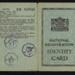 National registration identity card - Mabel A. Baker - Leeds - 13/05/1943; 13/05/1943; 5166