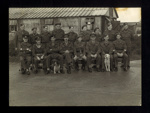Group photographs (3) - original Eden Camp wartime officers & N.C.O's - with manuscript notes & photographic negative; 2056