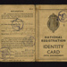 National registration identity card (with endorsement) - George W. Wallis - Middlesbrough - 25/09/1940; 25/09/1940; 5213