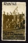 Photograph of Gnr R.N. Hodgson, POW in Stalag XXID Poland 1942; 48304