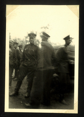 Photo of J.B Mcfeat in Russian Zone 1953, in uniform.; 76923