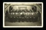 Photograph German P.O.W. band at Eden Camp; 6894