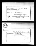 Photocopy of POW letter sent by Oskar Kakschies German POW held at Eden Camp 26/12/44; 26/12/1944; 25910