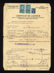 Josef Weinling: certificate of indenture in home country of Romania, ex P.O.W. in Eden Camp and naturalised here; 48862