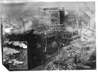 Copy of photograph - Central Coventry in ruins after Blitz - November 1940 ; 1/11/1940; 9030