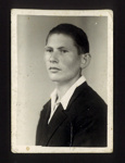 Photograph - Andreas Ertl - ex German P.O.W. - Inmate of Eden Camp; 33097