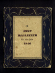 1946 Mein Begleiter - exercise book comtaining notes on learning English written by Romanian Eden Camp P.O.W. Martini Martin; 26788