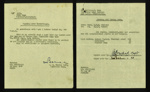 Administration letters (5) - relating to P.O.W.s & Mr Barnes involvement with Eden Camp - Rudston Camp - Thorpe Hall & Buckton Camps; 36224