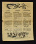 "German leaflet - ""Wir fahren gegen Engelland"" - printed in German French & Dutch - instructions for the invasion of England; 5354"
