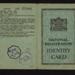National registration identity card - Edith A. Ruston - Malton - 23/05/1940; 23/05/1940; 5155