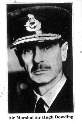 Copy of photograph - Air Marshal Sir Hugh Dowding ; 9032
