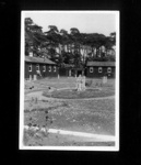 Photographs (8) - Eden Camp - Wartime personnel & prisoners - (see also item no: 32320) Norton camp, Dog and Duck Camp, P.O.W Camp 172, Norton-in-Malton ; 8029